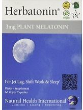 Herbatonin 3mg Plant Melatonin for Sleep, Travel & Shift Work Review