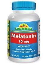 Nova Nutritions Melatonin Tablets Review