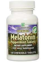 Peppermint Melatonin 500mcg Nutrition Now Review